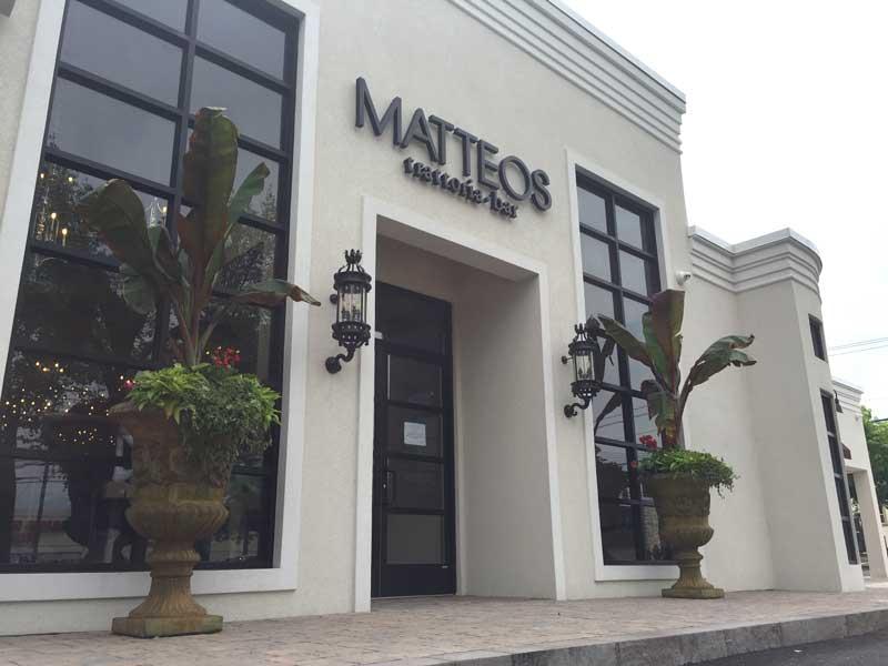 New York >> Matteo's Trattoria – Generous portions of italian classics | Roslyn, New York | Huntington, New ...